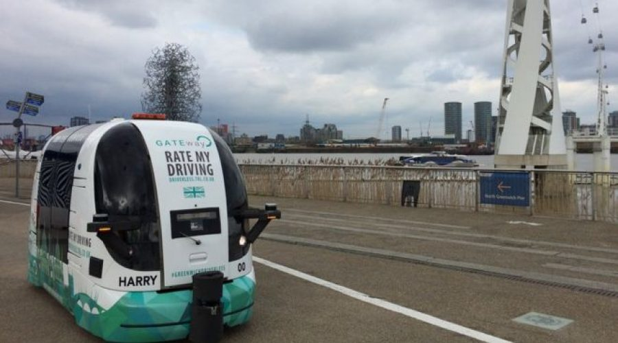 Remarkable driverless shuttle aims for 'unremarkable' trial at O2 arena