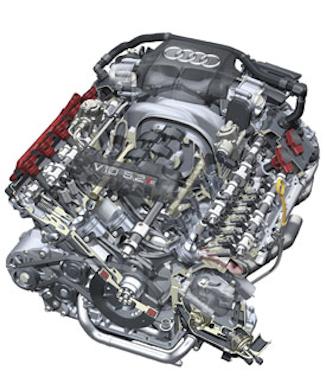 Audi_V10_engine