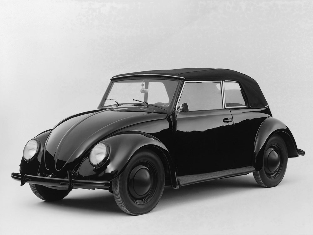 Volkswagen Beetle Where it all re-started for the German car industry after the war; the original stayed in production in Mexico until 2003