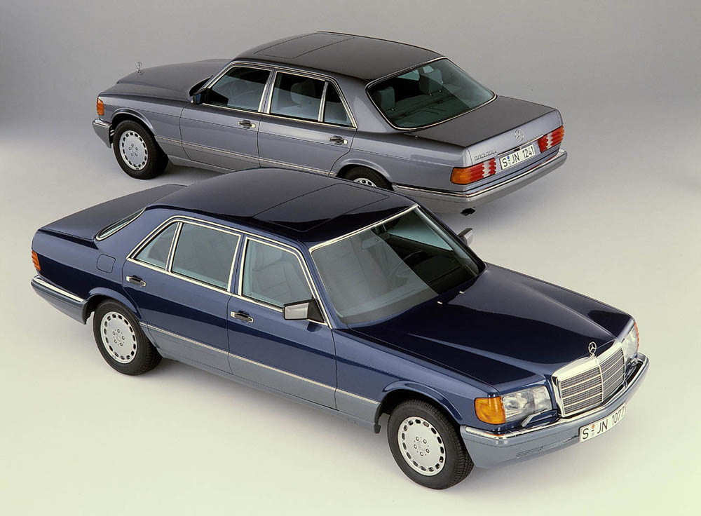 Mercedes-Benz 560SEL 6.9 The most outrageous S-class borrowed the 6.9-litre engine from the vast Pullman limo. James Hunt had one, and stored it on bricks when he couldn't afford the tax