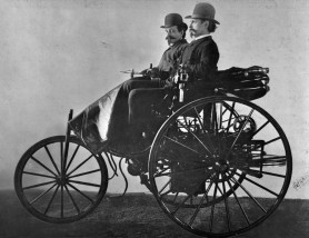 Innovative wagon from the early years of internal combustion. Look out for the AMG version!