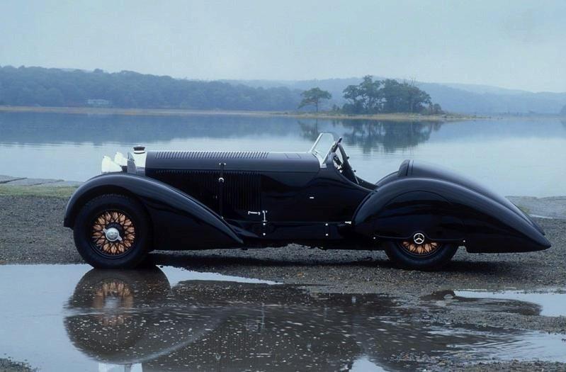 Quais são para vós os carros mais belos de sempre? Mercedes-Benz-Count-Trossi-SSK-1930