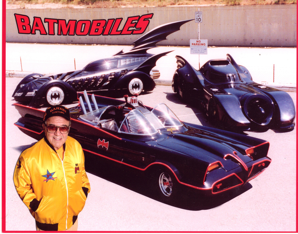 Mr Barris may have known how to pen a cool car, but his jackets rocked too