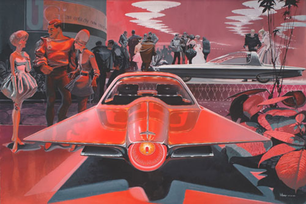 Star Trek's colourful imaginary inspired many an American vision of the automotive future