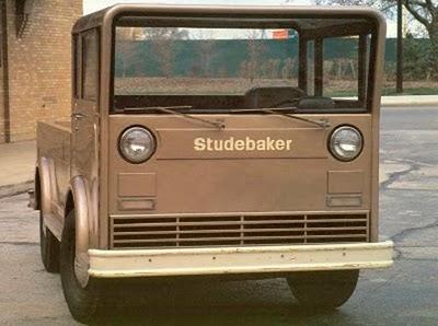 Studebaker square truck