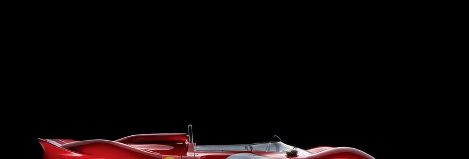 Scuderia spider signatures in Rosso