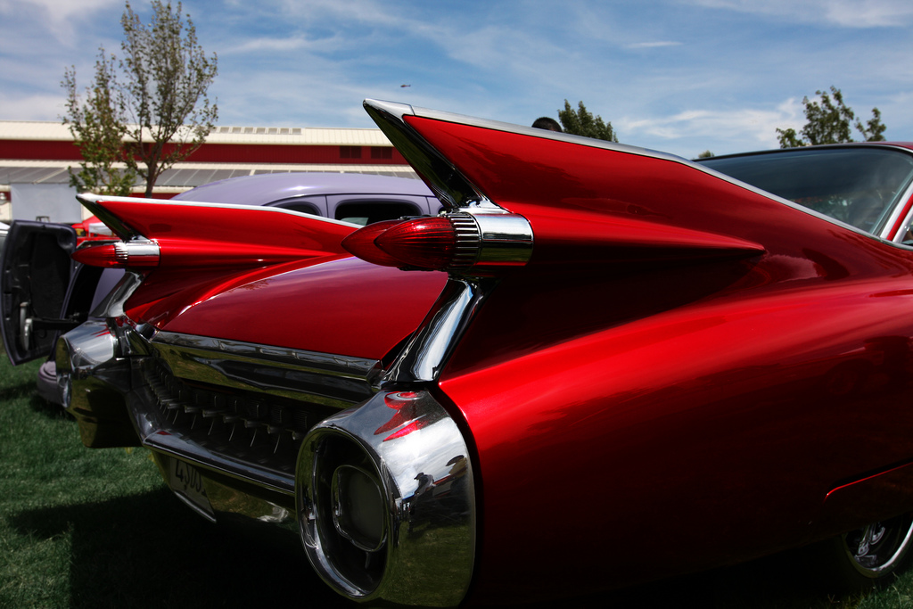 The 1959 Caddy was designed in response to Sputnik's triumph