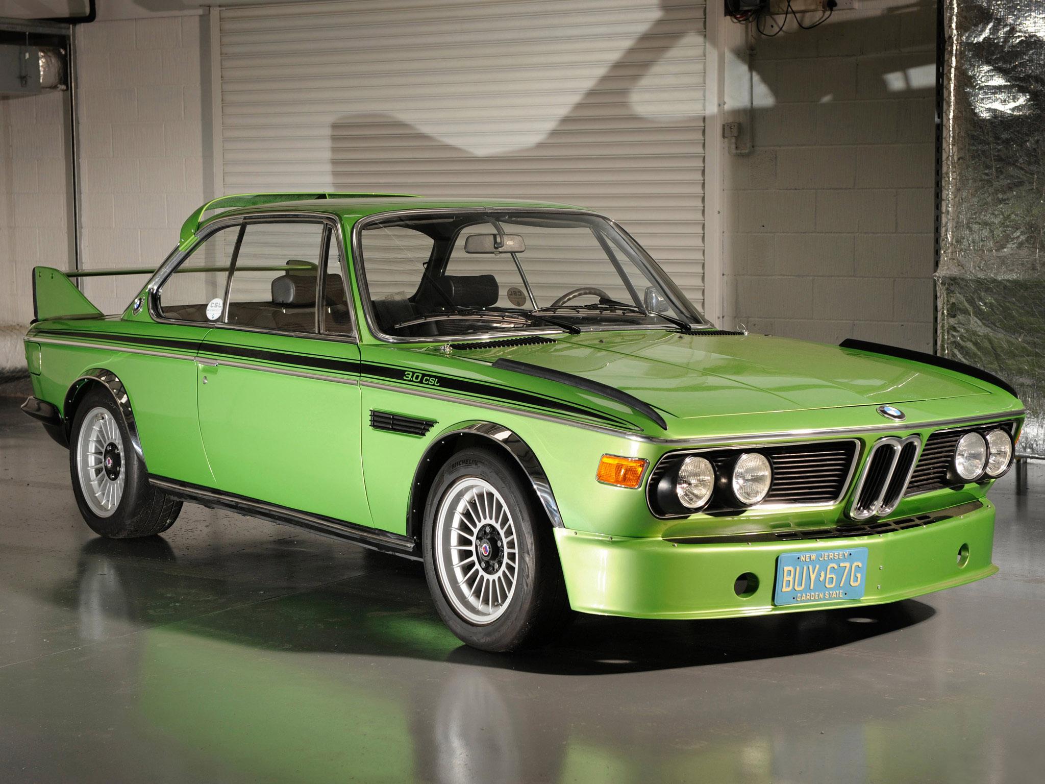 Talk about a green car.
