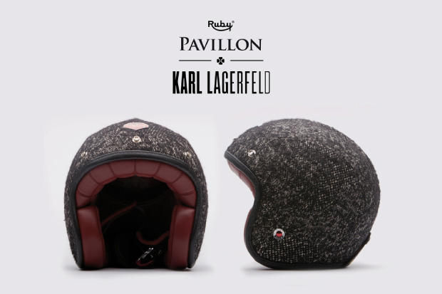The fur wrapped Karl Lagerfeld collaboration