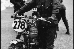McQueen was a competitive off-road biker. And wore Barbour extremely well.