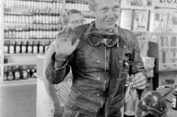 McQueen held himself in a manner that ranged from intense to puckish