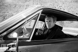 In 1968's Bullitt McQueen was able to flex his skill behind the wheel.