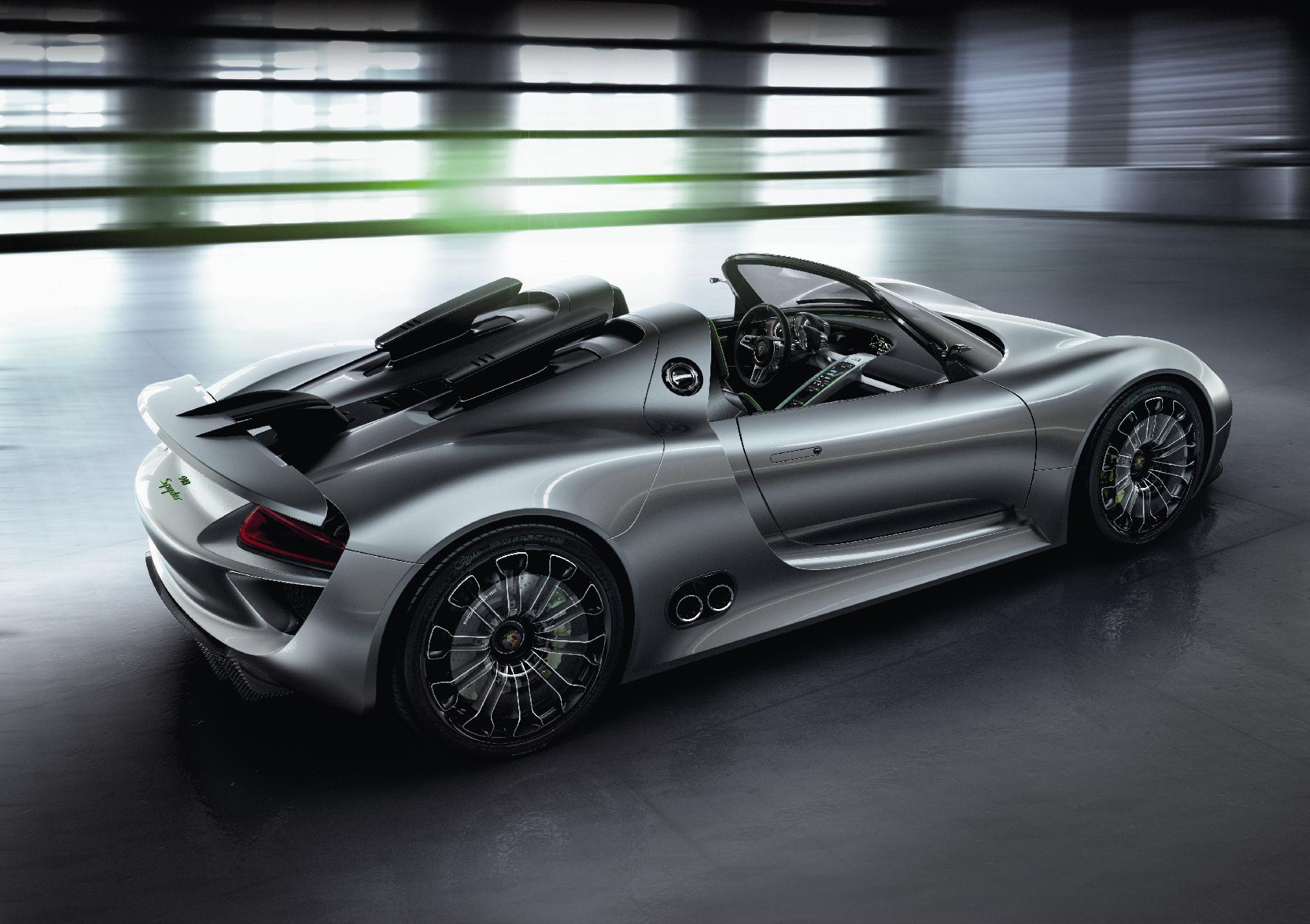 The 918 takes the classic Spyder fomat and plugs it into the 21st century