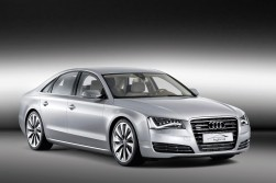 Audi get in on the act with their A8 hybrid