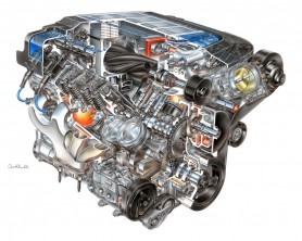 Cherish the beauty of engines like this Corvette ZR1 V8. You may not be able to afford to run it for much longer.