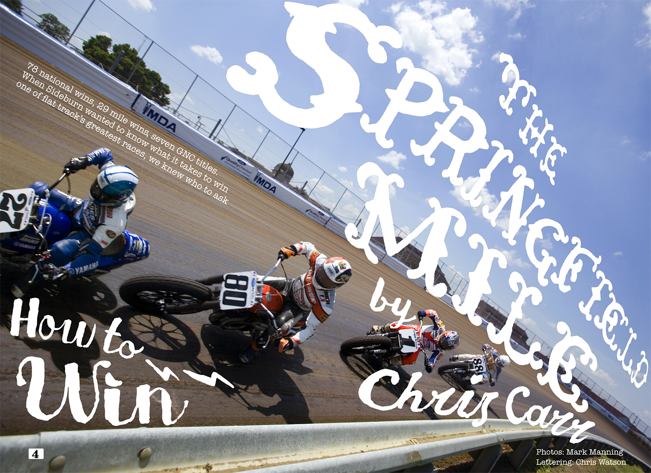 Dirt track remains at the heart of Sideburn