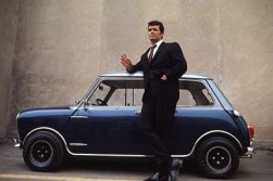 James Garner was too tall for his Mini