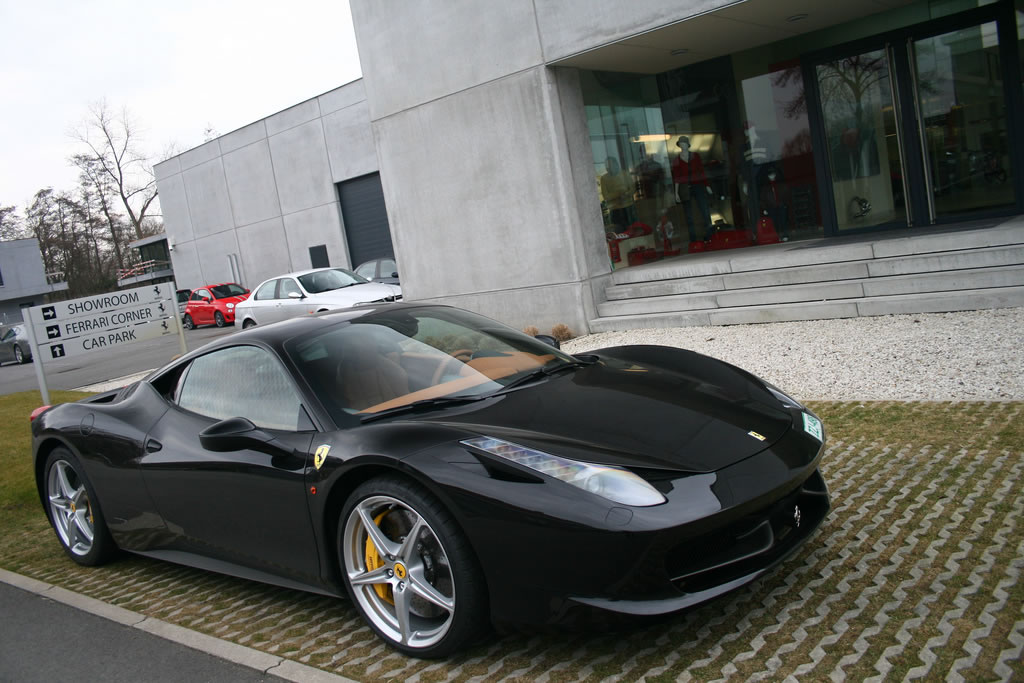 Ferrari 458 in Black