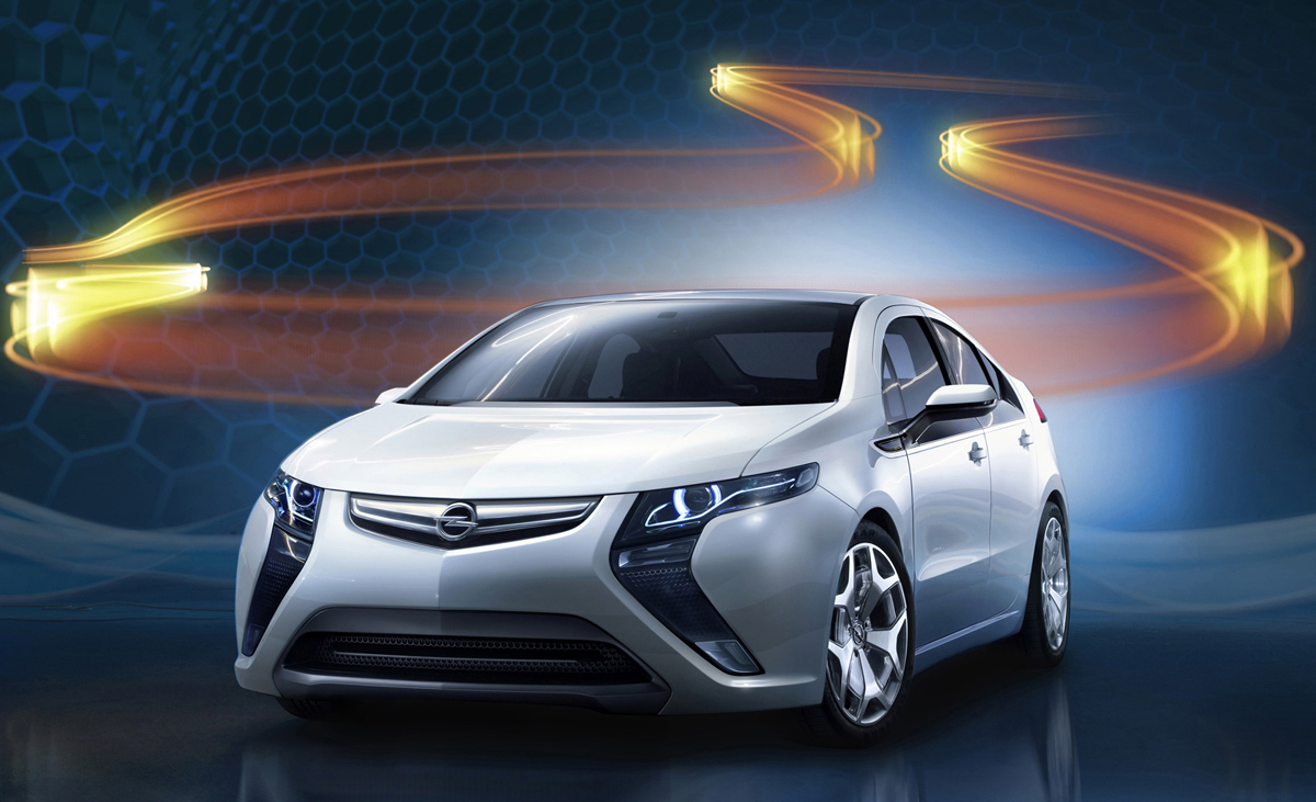 Electric powered Ampera: tons of oil still used in its manufacture