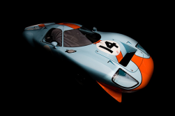 The timeless Gulf livery of the GT40 always strikes a cord