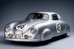 Porsche 359 speedster, slick silver arrow
