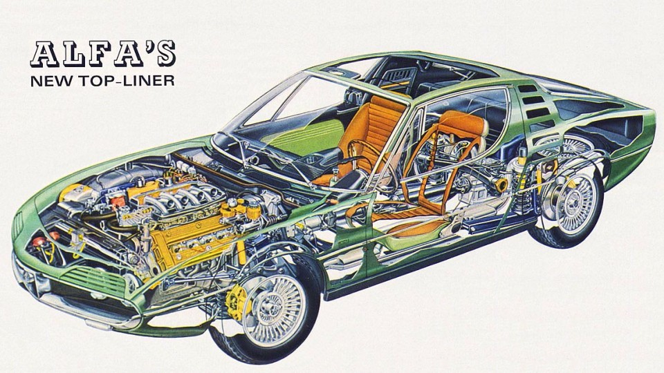 Cutaways are always appealing; especially when they reveal the Montreal's beautiful innards