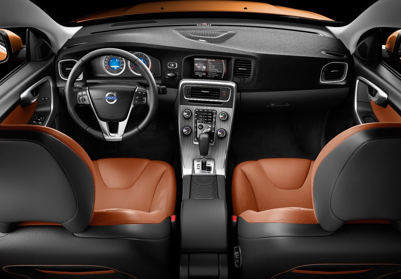 Graphite aluminium trim and interesting diallage help make the interior a winner