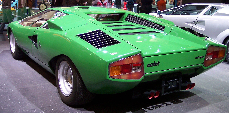 Lamborghini Countach Kit Body 1000