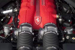 The first front mounted Ferrari V8 in the company's 63 year history