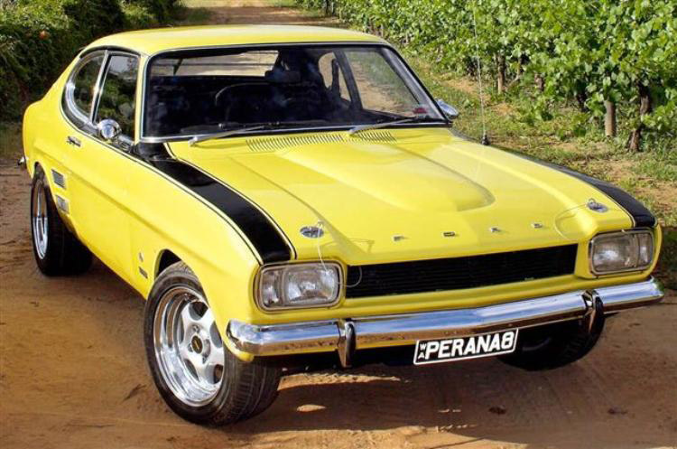 Ford Capri Penara V8 Gt40s Com