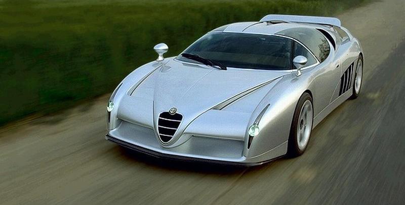 Alfa Romeo Italdesign Scighera Coche Car
