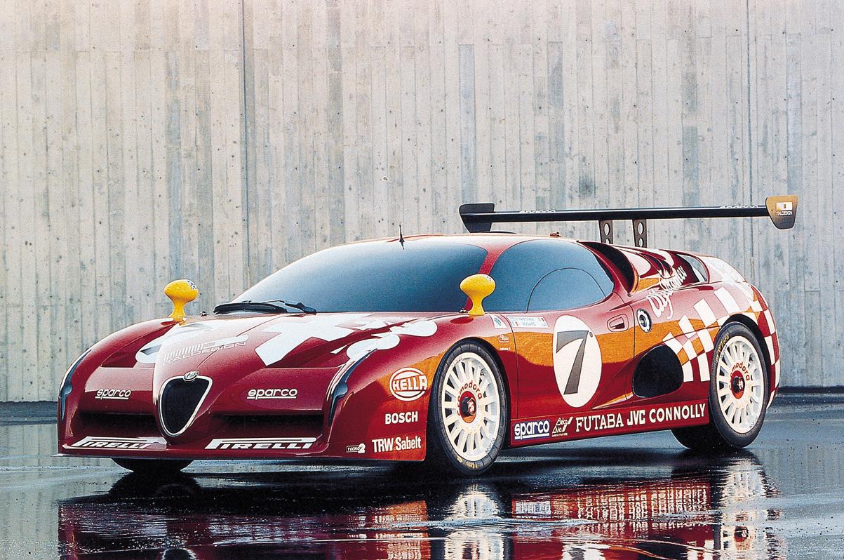 Alfa Romeo Italdesign Scighera GT Coche Car