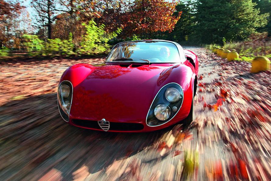 Photography via http   www museostorico it Alfa Romeo 33 Stradale Replica