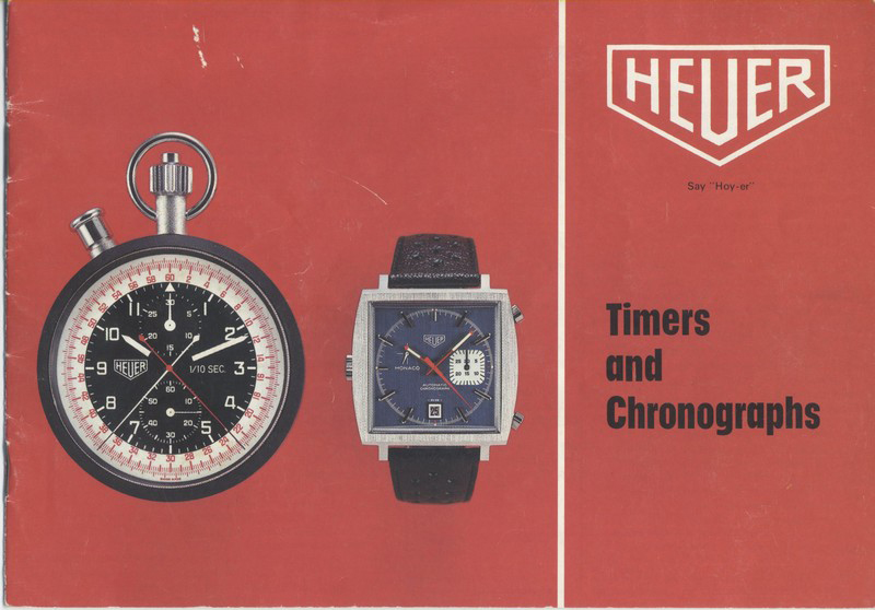 Heuer Timers and Chronographs