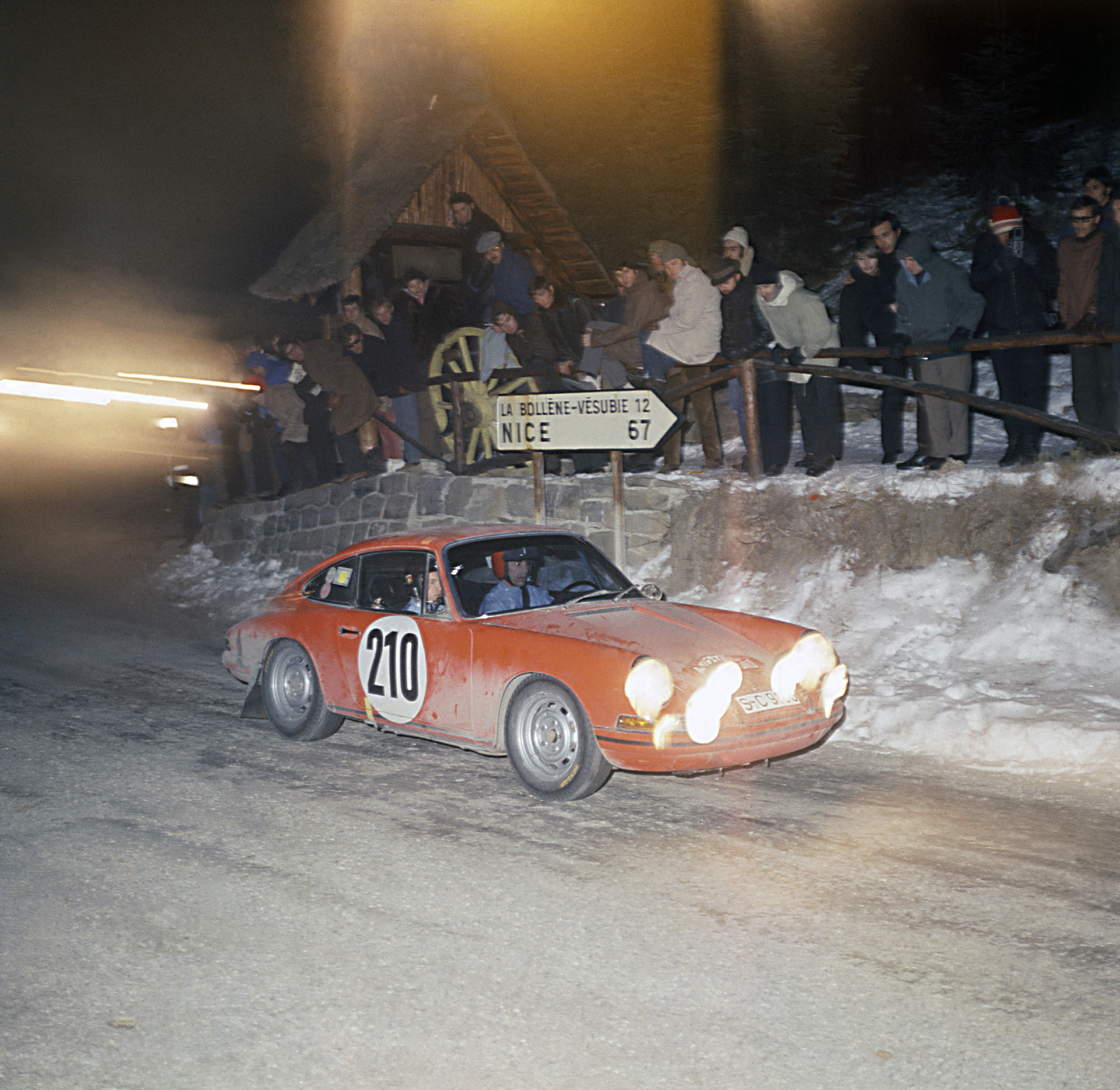 wins the Monte Carlo Rally