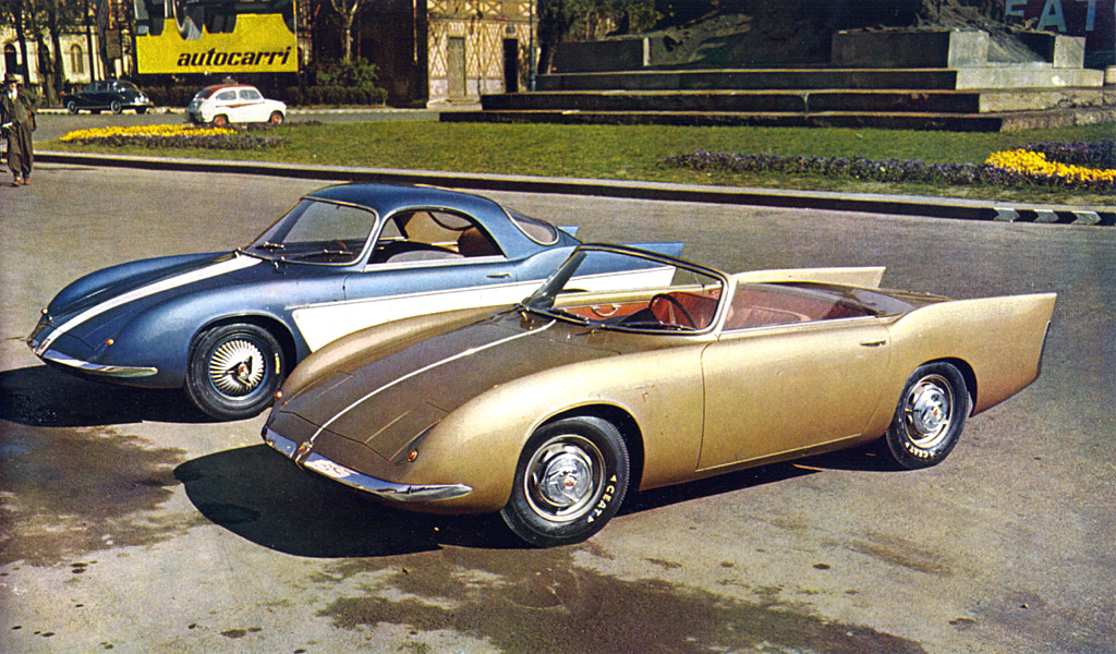 Abarth 750 Coupe and Roadster