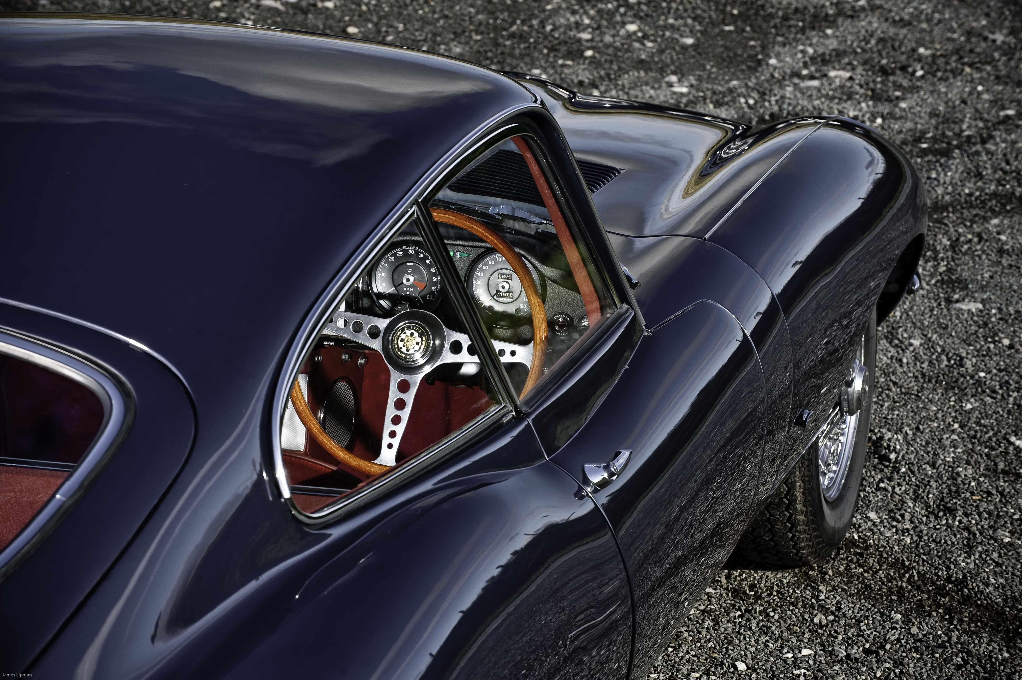 The First Jaguar E Type