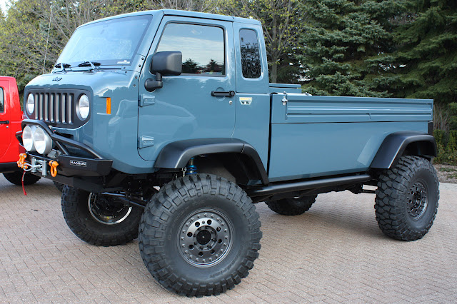 Jeep Fc 150 For Sale >> Jeep Forward Control Concept