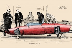 Ferrari 156 F1 1961 to colour