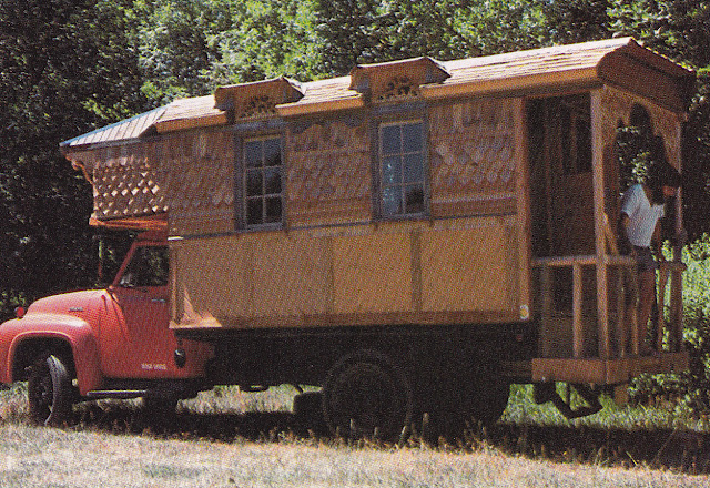 Seventies Camper Van