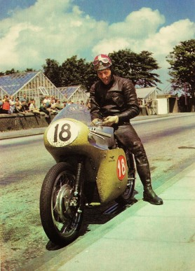 Not sure who this is or if it is actually the Guzzi V8 but it's such a good picture we need to share it...