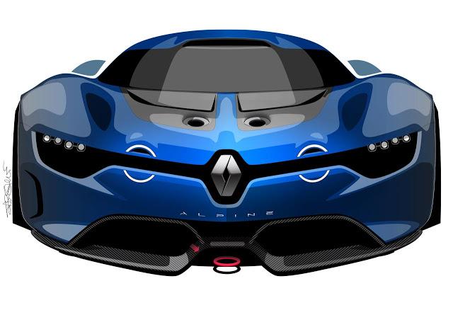Renault Alpine A110 50 Concept