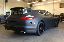 Porsche Panamera Camera Car side view