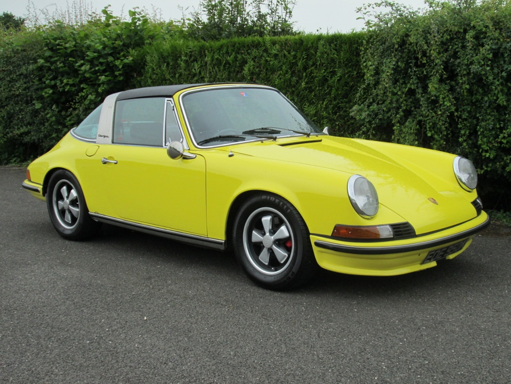 Celebrating half a century of the 911, three desireable seventies Targas will be up for auction
