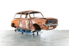 Delectable project teasers like this Mini 1275 GT will be available as well as crisp, clean concours classics.