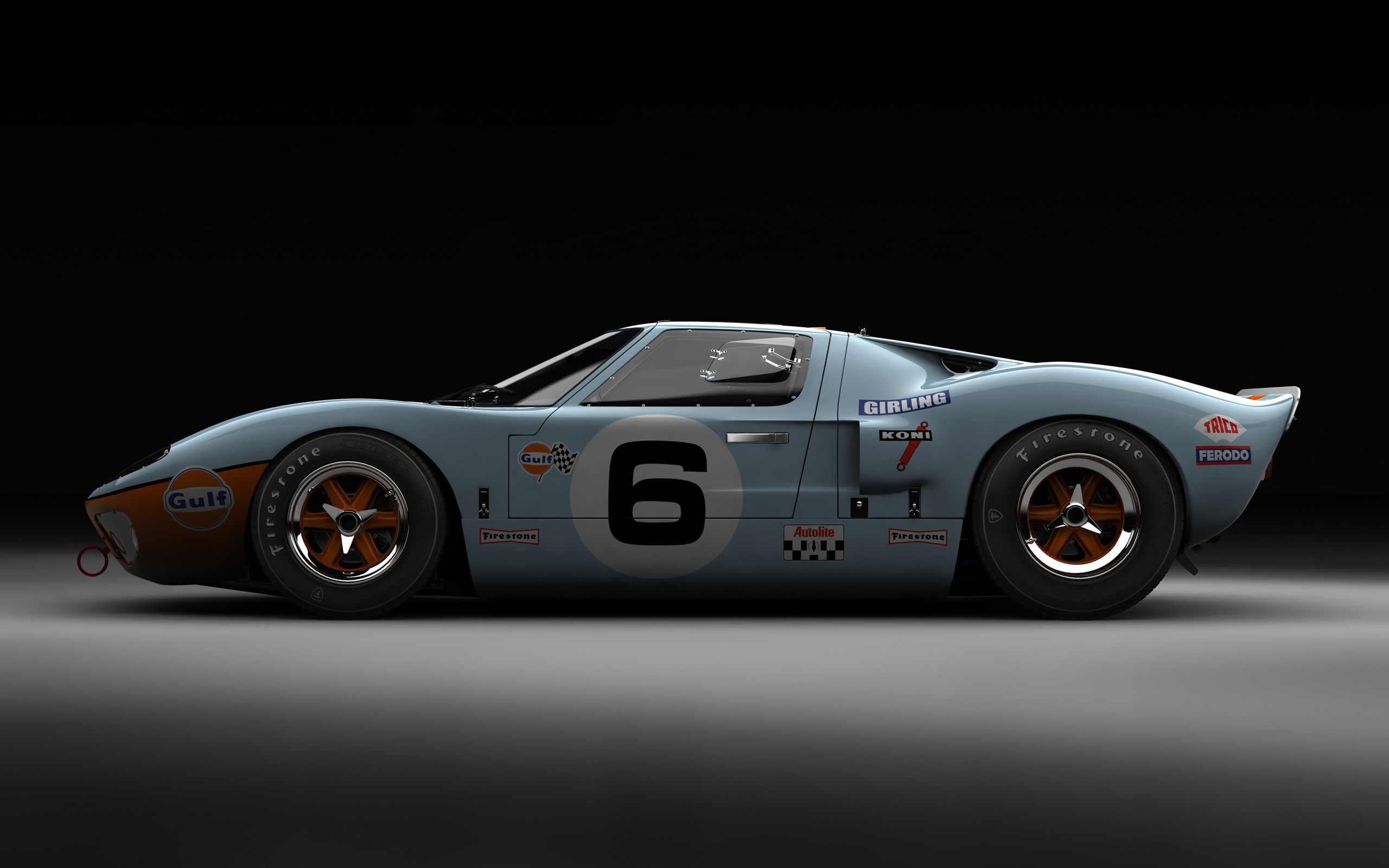 Ford gt40 the beauty influx for Garage automobile le mans