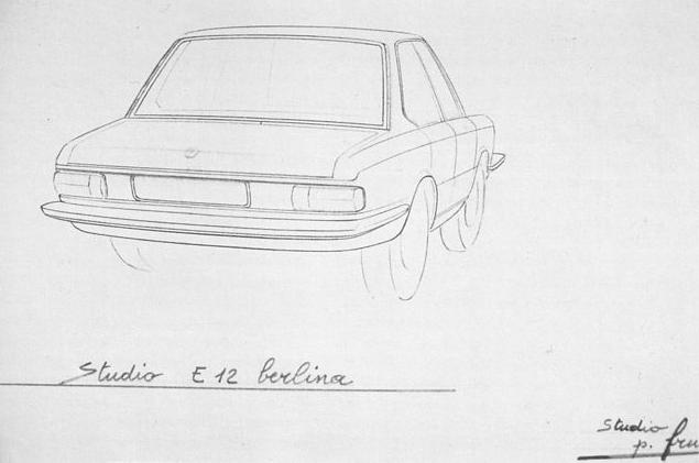 Co Powered Race Car Sketch