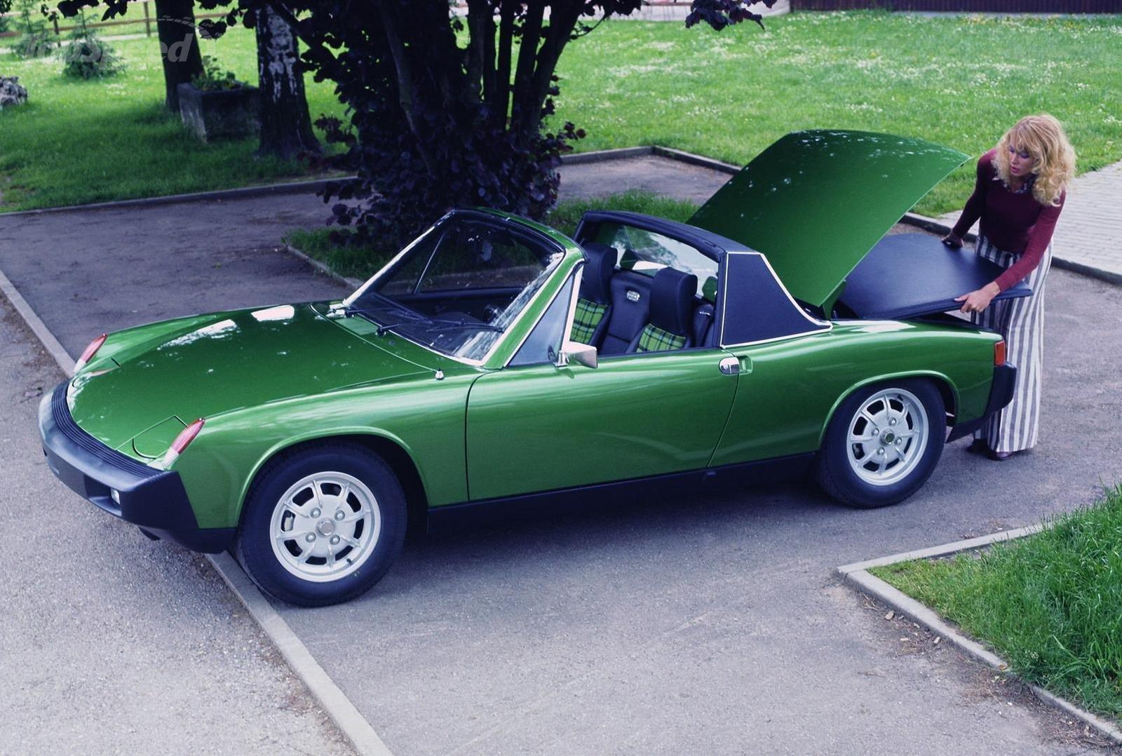 Friday Car Crush: Porsche 914
