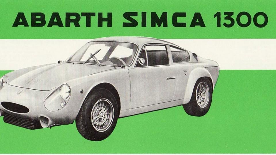 Abarth: Simca 1300 - Influx