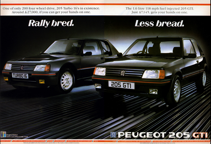 peugeot 205 t16 influx. Black Bedroom Furniture Sets. Home Design Ideas